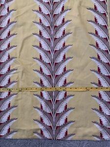 barkcloth fabric vintage