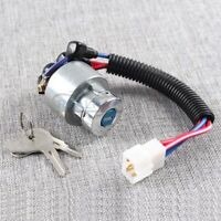 Ignition Switch Ignition Lock & 2 Keys for Kubota L4600 MX4700 MX5000 Tractor