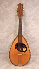Ant Bowlback Mandolin 8 Strings No Label Great Inlay Design Around Sound Hole