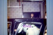 ELVIS PRESLEY GETTING INTO LIMO PHILADELPHIA 6/23/74 ORG VINTAGE PHOTO CANDID