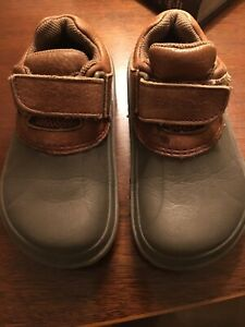 Croc Duck Shoes With Leather 10