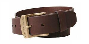 Levi's Premium Original 11LV0204 Brown Men's Genuine Leather Belt