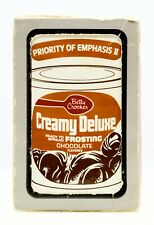 Betty Crocker Creamy Deluxe Playing Cards Sealed Cooking