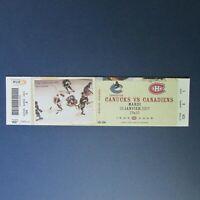GUY LAFLEUR   2007  ticket  Montreal Canadiens  Vancouver Canucks  Dunc Wilson
