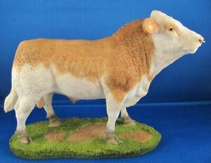 Sherratt & Simpson Farmyard - SIMMENTAL  Bull       MIB