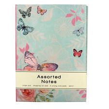 Notepad Sticky Notes Book & Shopping List Pad Butterfly Notebook N Gift