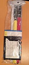 Olympus Soccer Futbol Ref Flag Referee Line 2 Flag Red & Yellow Card Pouch Guide