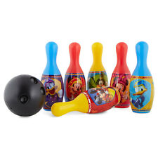 Disney Mickey Mouse Bowling Play set Kids Birthday Christmas Gift Toy Pins, Ball