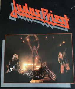RARE 1982 JUDAS PRIEST Songbook Sheet Music pics interviews Guitar tab tabs