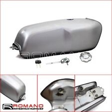 Motorcycle Titanium Steel 2.4 Gallon Gas Fuel Tank For Cafe Racer BMW R100R New