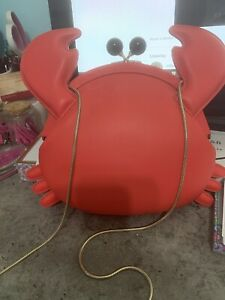 Kate Spade New York Crab Crossbody Gold Chain Bag