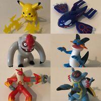 Pokemon CHOICE OF Hasbro Figures Assorted Thundershock Attack Pikachu Kyogre