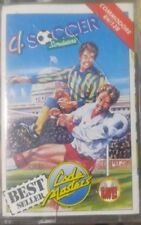 4 Soccer Simulators (Codemasters 88) C64 Kassette (Box, Manual, Tape) 100 % ok