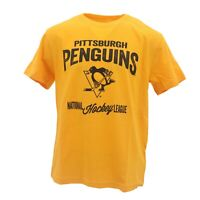 Pittsburgh Penguins Official NHL Apparel Kids Youth Size Distressed T-Shirt New