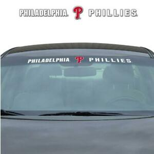 Philadelphia Phillies Auto Windshield Decal [NEW] Car Wind Shield Sticker Emblem