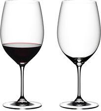 Riedel Vinum Cabernet Sauvignon/Merlot/Bordeaux Glasses - Set of 2 BRAND NEW BOX