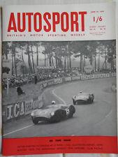 Autosport 26/6/59 Le Mans report
