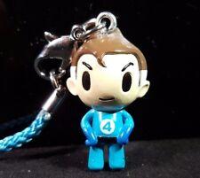 tokidoki Marvel Frenzies Mr Fantastic Keychain Cell Phone Strap Charm Clip On