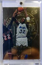 1995 95-96 Fleer Ultra Gold Medallion Shaquille O'neal #126, Parallel, Magic