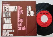 ROY CLARK (SP 45T) Yesterday when I was young (HIER ENCORE AZNAVOUR)