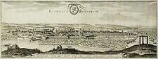 HILDESHEIM - GESAMTANSICHT - Merian -  Kupferstich 1653