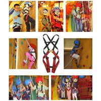 Pro Kid's Full Body Harness Safety Belt Sit Seat Rock Climbing Zipline Protector