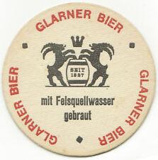 Bierdeckel Brauerei Erlen AG Glarner Bier Schweiz Glarus