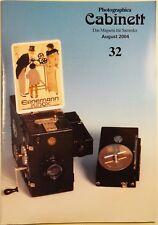 Photographica Cabinett 32 Contabox Ernemann Kino Braun Zeiss Jena IKON Agimatic