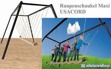 Ullmann Tampenschaukel Raupenschaukel Maxi 7 Kinder Mehrkind-Schaukel Schaukel