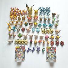 Pokemon Figure Merchandise Vtg Tomy Moncolle Generation 1 & 2 Lot 82 pcs