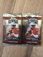 2019 LEAF DRAFT FACTORY SEALED 2 PACK LOT WITH 5 CARDS IN EACH PACK~MURRAY RC ?