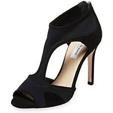 L.K. Bennett Women's Anthea Cutout Zipper Sandals Pumps Black Sz 41 NWOB 395