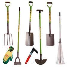NEW*  High Quality Digging Garden Spade Shovel Fork Hoe Rake Tools Gloves Patio