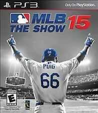 MLB 15 The Show W/CASE Sony PlayStation 3 PS PS3 GAME BASEBALL 2K15 2015