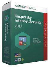 Kaspersky Internet Security 2017 / 1 PC / 1 Jahr / Vollversion