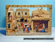 Neapolitanische Krippe Papierkrippe Pop-up Weihnachtskrippe Guckkästchen Creche
