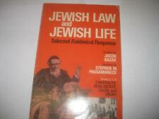 Jewish law and Jewish life : selected Rabbinical responsa Contracts, Real Estate
