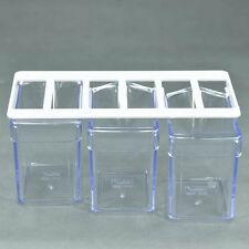 Küchenschütte Zuckerschütte Vorratsschütte Küche Unterbauschütte glasklar 3er