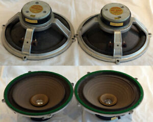 Wharfedale Golden 10/RS/DD drive units. I is faulty open circuit.