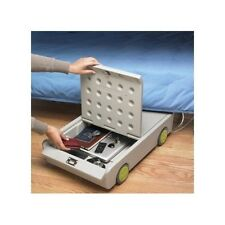 Personal Safe Portable Small Under Bed Security Lock Roll Key Home Storage