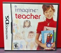 Imagine Teacher - Nintendo DS DS Lite 3DS 2DS Game Complete + Tested