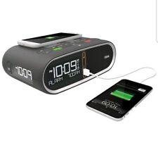 Triple Display NFC Bluetooth Alarm Clock Wireless QI/PMA Dual Standard Charging