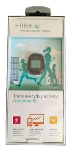 FITBIT ZIP WIRELESS TRACKER BLACK NEW IN SEALED PACKAGE! Free Shipping