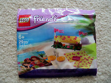 LEGO Friends - Rare - Lot Of 5 - Beach Hammock 5002113 - New & Sealed