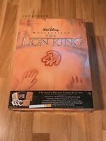 The Lion King Exclusive *RARE* SEALED Deluxe Edition Box Set, Disney VHS 1995