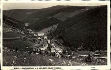 Klínovec Keilberg Sutdetengau Erzgebirge 1943 Poststempel Oberwiesenthal Totale