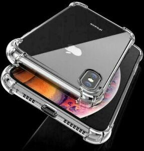 CLEAR Shockproof Case For iPhone 12 PRO MAX Mini 11 Pro Max XR XS 8 7 6 Silicone