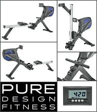 Pure Design PR5 Air / Magnetic Resistant Rower - NEW 2020 Model Rowing Machine
