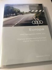 GENUINE AUDI MMI 2G SAT NAV DISC DVD EUROPE A4 A5 A6 A8 Q7 B8 8T C6 D3 4L