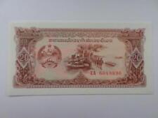 Banknote kommunistische Laos Panzer Soldat Emblem 1979 Money Cash note Communist